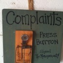 Have Any Complaints?
