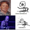 Cute Kid turns out to be the Undertaker