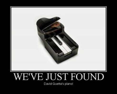 We've Just Found David Guetta's Piano!
