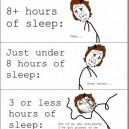 Explaining the Different Hours of Sleep