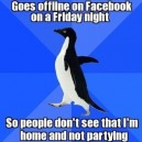 Facebook on Fridays