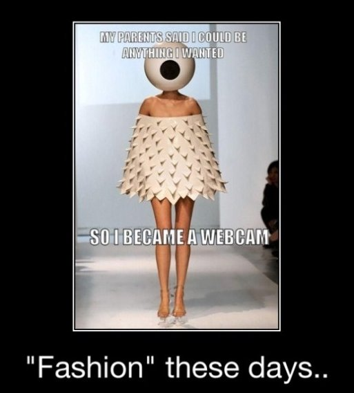Fashion These Days…