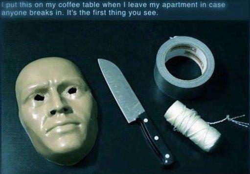 How To Scare off Burglars