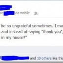 Girls can be so ungrateful sometimes…
