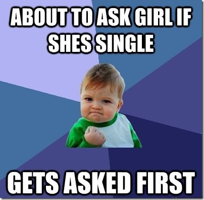 Success Kid Gets Asked Out