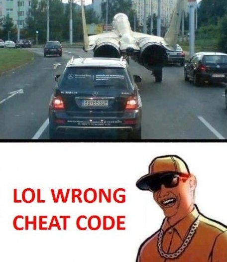 Wrong Cheat Code