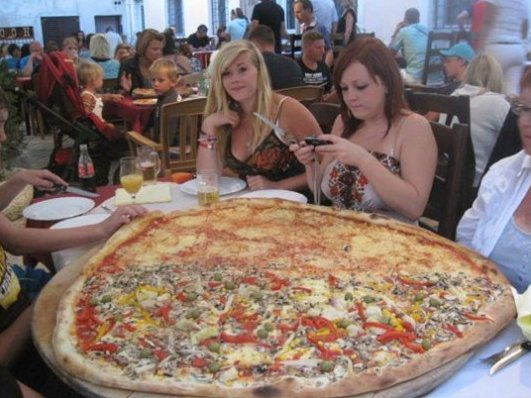 Huge Pizza!