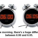 A Huge Difference In The Morning