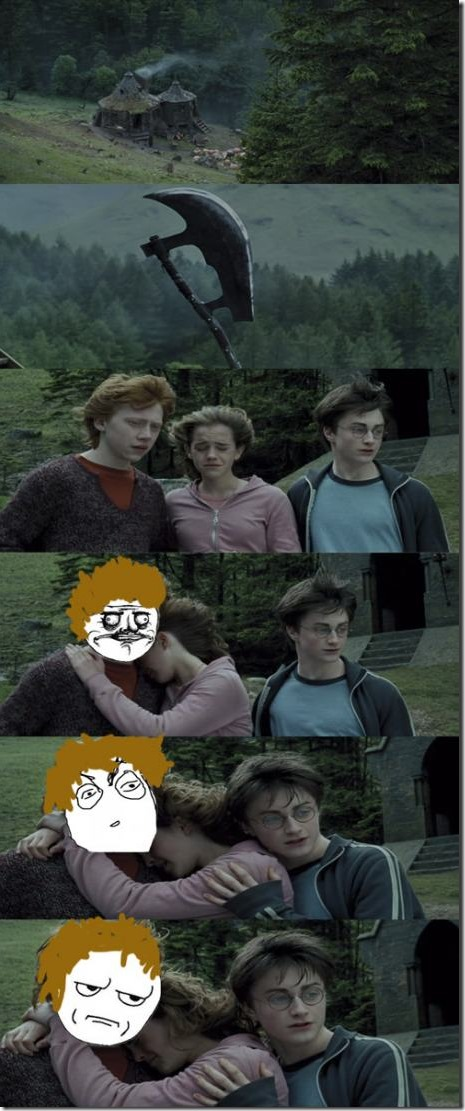 I always thought this when seeing the Prisoner of Azkaban