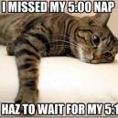 I Missed My 5:00 Nap…