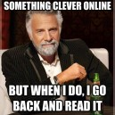 Say Clever Things On The Internet