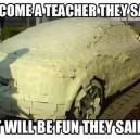 Become a Teacher They Said…