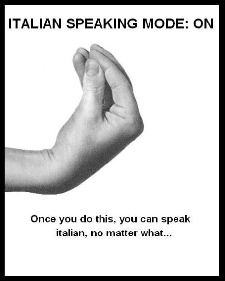 Italian Speeking Mode