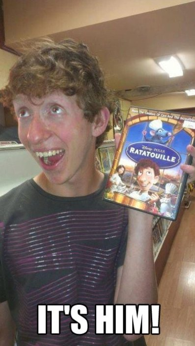 It's The Guy From Ratatouille!