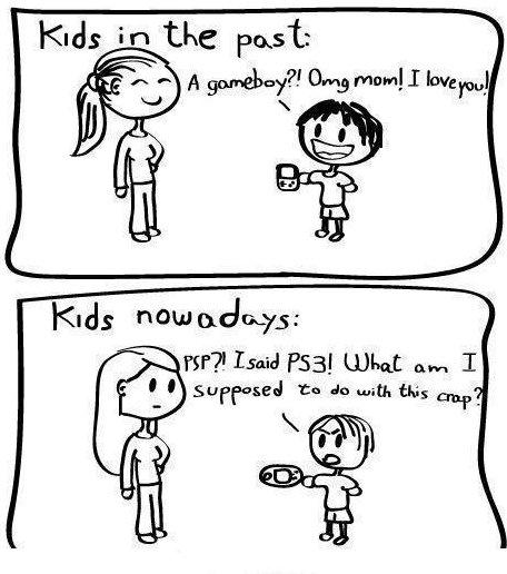 Kids Nowadays…