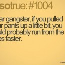 Dear Gangsters…