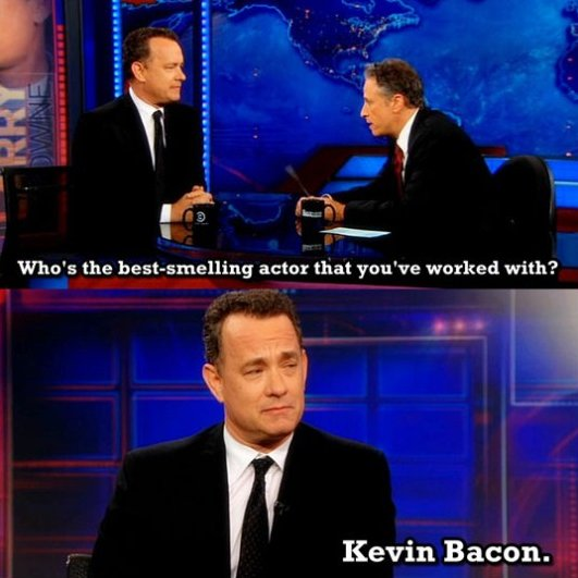 Good One Mr. Hanks!
