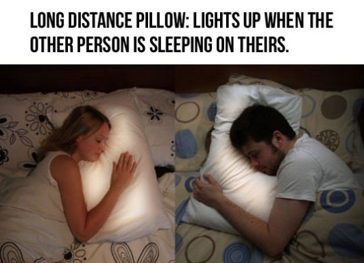 Long Distance Pillow