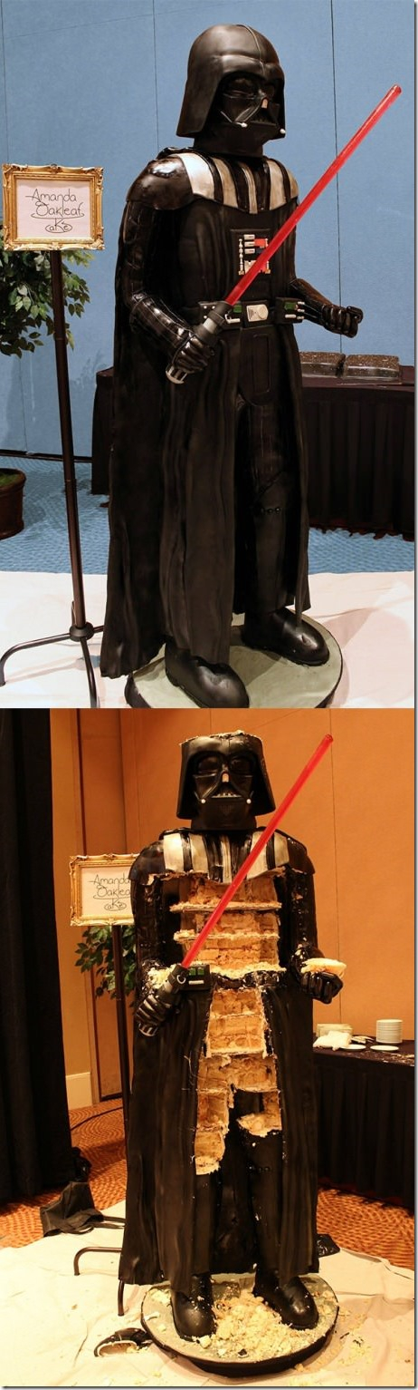 Awesome Darth Vader Cake