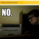Do you trust this printer?