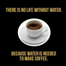 There Is No Life Without Water.