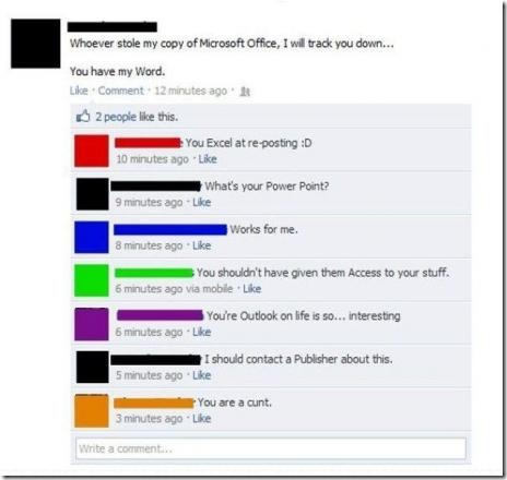 Someone Stole My Copy of Microsoft Office!