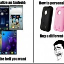 Personalizing Your Phone : Android vs iPhone