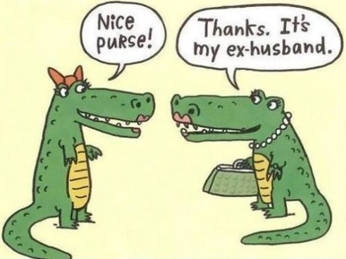 Got a New Purse?