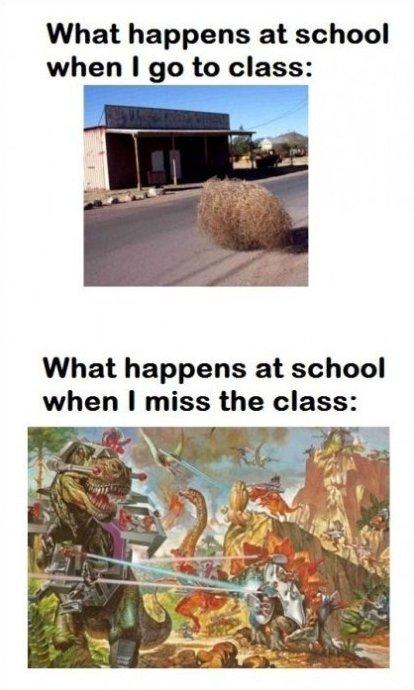 The Main Reason Not To Skip Class