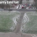 Security Gate Fail