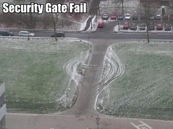 Security Gate Fail