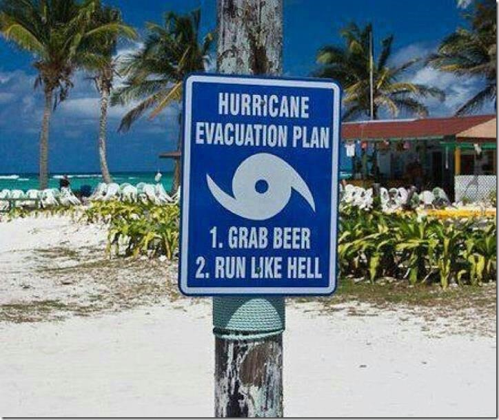 The Most Simple Hurricane Evacuation Plan