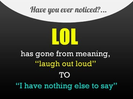 The Meaning of LOL