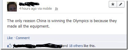 The reasons why China is winning the Olympics