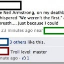 Troll Level: Armstrong