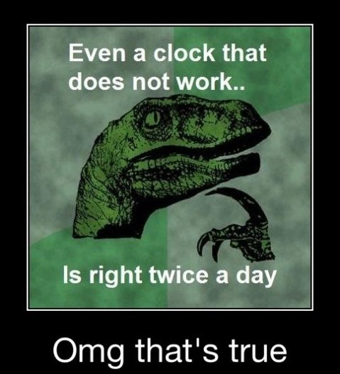 Philosoraptor is Philosophical
