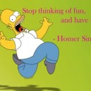 Wise Words From Homer Simpson