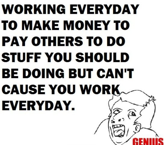Why Do We Work So Much?