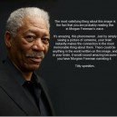 You will hear Morgan Freeman in your head