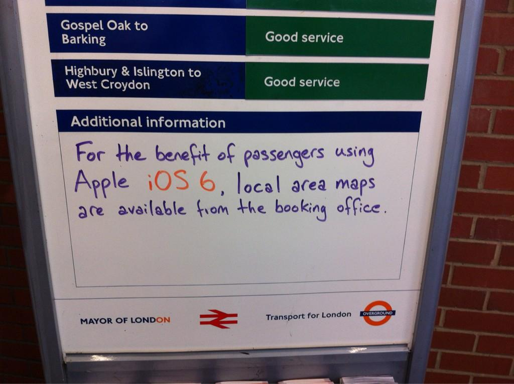 For You With iOS6 and Apple Maps