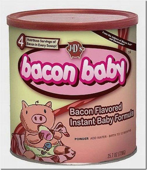 Bacon Is Good Enough For Anything!