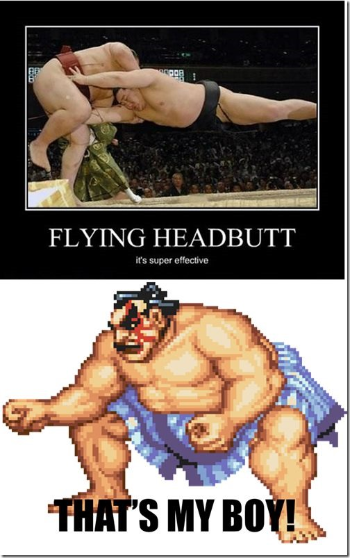 Flying Headbutt