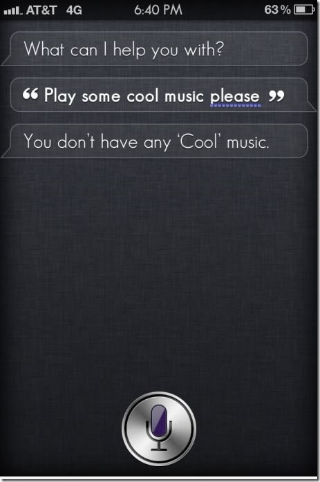 Owned by Siri