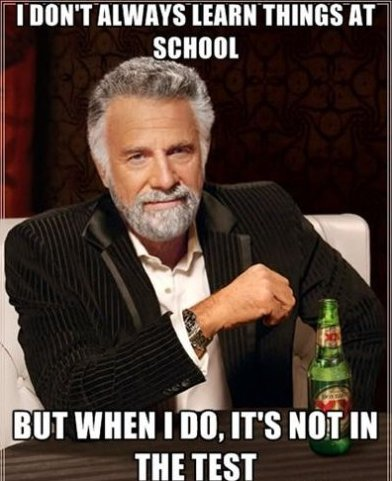 I Don't Always…