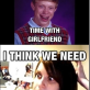 Bad Luck Brian gets a new girl friend