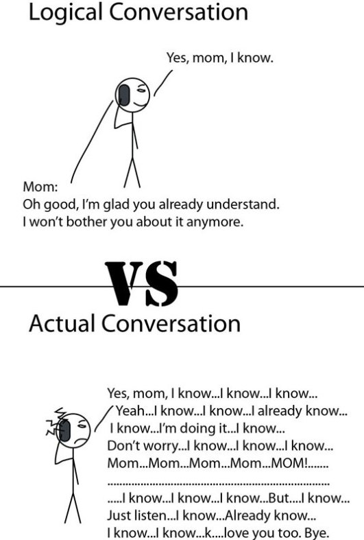 Conversation With Mom