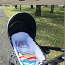 Customized Home stroller. Top Speed: 50 MPH