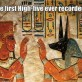 The First High-Five Ever Recorded
