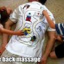 Free Back Massage
