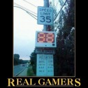 Real Gamers Never Rest